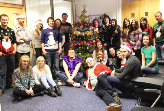 dsn-marketing-team-rocking-their-christmas-jumpers-for-save-the-children-charity
