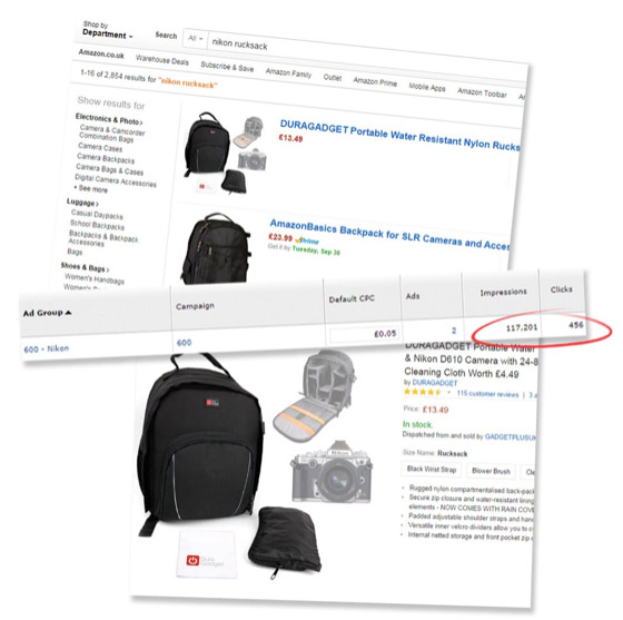 Amazon sponsored products - great new tool for ecommerce